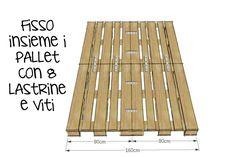 Come costruire un letto con pallet riciclati. Progetto totalmente fai da te! Ecco il video tutorial fai da te su come progettare un letto con i bancali