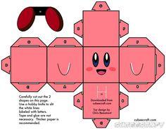Muñecos de papel [ Cubecraft ]