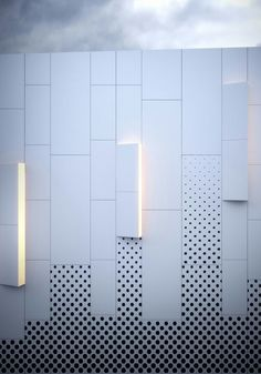 Pure White HPL facades from Kronoart add a modern touch. Contact Bestlaminate for a quote in the USA. #facade #modern