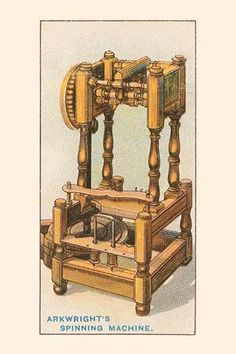 In 1767, James Hargreaves invented the first spinning jenny, with which the spinseter could spin ten separate threads at once. He was however driven from Blackburn, his native town, by his neighbours,