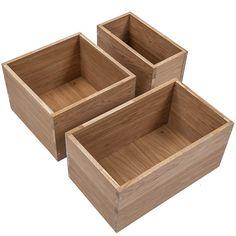 Hylle Cubic box eik -        Hyllemakeriet