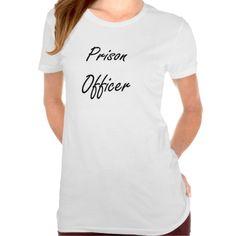 Prison Officer Artistic Job Design Tee T Shirt, Hoodie Sweatshirt
