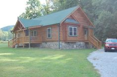 Columbus Log Home Floor Plan by Blue Ridge Log Cabins #loghomes #cabins #mountaincabin #ranch