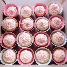 Sarah's pink girly cupcakes :)