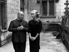 Bernard Blier et Mireille Darc (Les Barbouzes)
