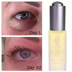 Got bad dark circles? Eye bags? Wrinkles? Try this new Uplift Eye Serum! Picture is from a real person, a friend, with real results!