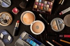 Every time you touch your makeup, you transfer all the dirt and tiny little organisms on your skin into the product. The same goes for any brush or sponge applicator —all those germs will inevitably get into your makeup, too. And it's safe to assume that the average person is not diligently washing and sanitizing their hands and brushes before and between using products. So over time, makeup products will become full of all kinds of things.