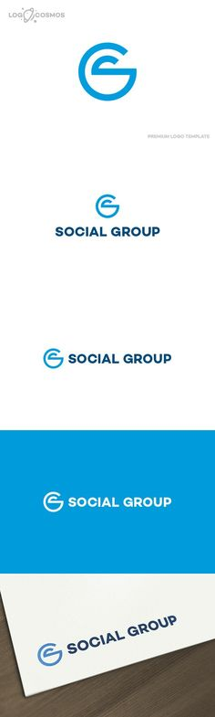 Social Group - Letter S G Logo