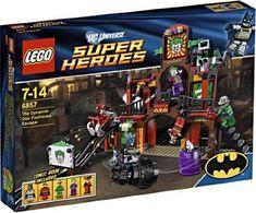 LEGO Superheroes Batman The Dynamic Duo Funhouse Escape Figures Building Block Toys @ niftywarehouse.com