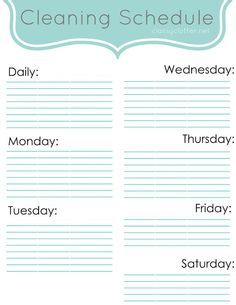 Household Planner Revealed (& a Few Free Downloads) | Organization ...