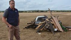 UK: More than 100 tonnes of industrial waste – including an illicit cannabis factory – have been illegally dumped on an Essex farm. Ed Ford, who farms at Child