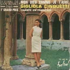 "Gigliola Cinquetti - ""Mon dieu comme je t´aime"", french cover version of the italian entry Eurovision Song Contest 1966"