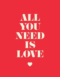 All you need is love… (and tea)!
