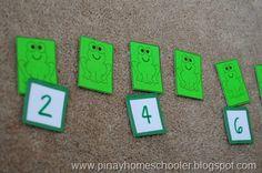 Frog Unit for Preschoolers
