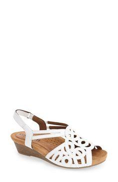 Cobb Hill 'Helen' Wedge Sandal (Women) available at Cobb Hill Shoes, Girls Sandals, Women Sandals, Buy Shoes Online, Designer Sandals, Women's Feet, Comfortable Sandals, Womens Flats, Shoes