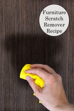 DIY Furniture Scratch Remover