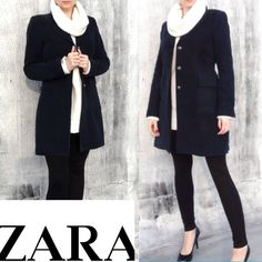 Beautiful velvet ZARA coat. Velvet Zara coat in very good condition. Zara Jackets & Coats