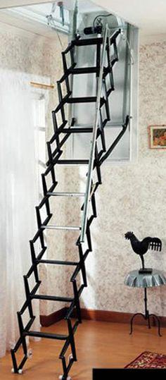 Cool attic ladder