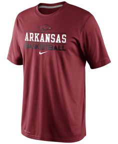 Nike Men s Arkansas Razorbacks Team Issue Basketball Practice Dri-fit T- Shirt Arkansas Razorbacks 29de3939c
