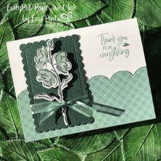 Color Contour, Handmade Thank You Cards, Stamping Up Cards, Rubber Stamping, Thanks Card, Card Sketches, Flower Cards, Diy Cards, Making Ideas