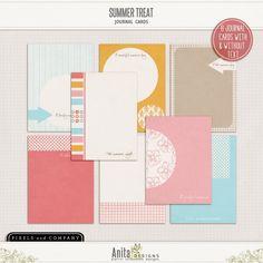 Summer treat {journaling cards}
