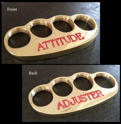 A collection of the best brass knuckles you will ever see.