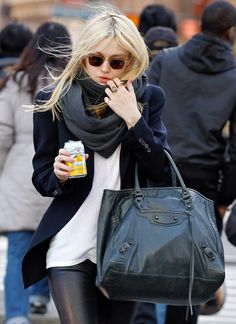 Balenciaga Sunday Tote - This would be the perfect travel bag!