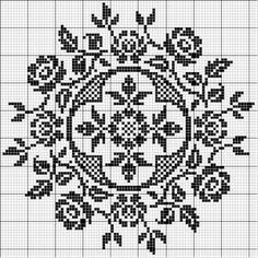 circular cross stitch designs - Google Search