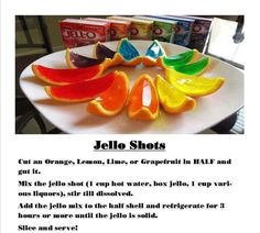 Cool Jello Shots!