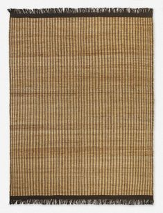 Woven by hand with natural jute fibers for plenty of earthy texture, this rug brings an easy, organic feel to your home. Designed with sustainability in mind, this fringed area rug uses no harsh chemicals for style you can feel good about. Jute Rug, Woven Rug, Art Deco Wallpaper, Carpet Flooring, Rug Cleaning, Mold And Mildew, Natural Rug, Pantone Color, Interior Design Inspiration