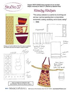 Project ideas for the Kitschy Kitchen collection!