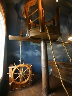 A House Of Whimsy: Pirate Ships, Climbing Walls, & Slides Oh My