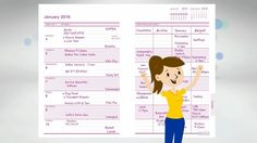 MUM's Office creates beautiful stationery designed to help organise and manage busy family life.  Our bestselling diaries and calendars feature our unique GRID format which helps to put an end to the scheduling chaos of busy families. www.mumsoffice.co.uk