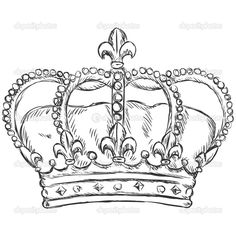depositphotos_40220955-Vector-sketch-illustration-royal-crown.jpg (1024×1024)