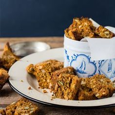 Pumpkin, Seed and Nut Rusks are perfect for LCHF or Banting diets. They are very crunchy and filled with goodness and great with a cup of tea! Banting Recipes, Gf Recipes, Low Carb Recipes, Real Food Recipes, Vegetarian Recipes, Recipies, Healthy Recipes, Free Recipes, Cooking Recipes