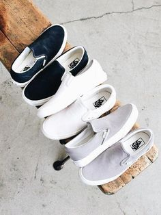 Slip on sneakers outfit – Lady Dress Designs Cute Vans, Cute Shoes, Me Too Shoes, Slip On Sneakers, Vans Sneakers, Converse, Vans Shoes Outfit, Vans Shoes Women, Zapatos Shoes