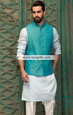 #Menswear #waistcoat #Pakistan #Stylish #Banarasi #Jamawar Waistcoat for Special Occasions Click to view collection