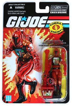 GI Joe Figure Subscription Service Carded Inferno BAT Image 1