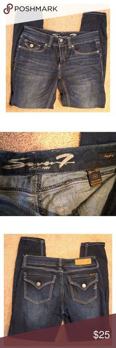 SEVEN7 Skinny Leg Denim Size 6 denim from Seven7, let me know if you need sizing. Seven7 Jeans Skinny