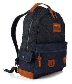 Acheter Sac à dos Super Quilted Raw Montana – Jeans – SUPERDRY