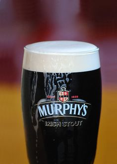 mmmmmmm... drinking murphys irish stout every year at the vw show with great people<3