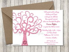 42 best jewish baby naming invitations images on pinterest in 2018