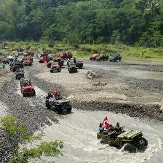 Rute air jeep offroad merapi di kalikuning