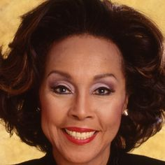 Diahann Carroll made a number of films during her career and was nominated for an Academy Award for Claudine in Dianne Carroll, Vintage Black Glamour, Black Actors, People Of Interest, Women In History, Black History, African American Women, Biography, Actors & Actresses