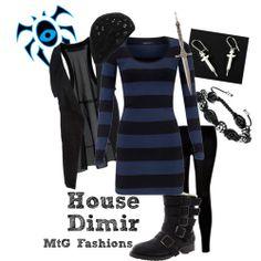 mtgfashions:  Ravnica Guilds: House Dimir