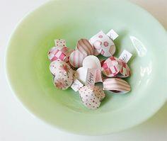 Homemade Valentine Heart Pockets