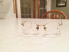 Vintage Gold Filled SPECTACLES/GLASSES- Great For Civil War Re-Enactors by CountryMileCottage on Etsy