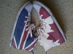 Painted Sneakers