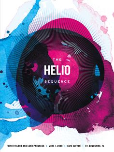 Helio Sequence by Karen Kurycki, via Behance