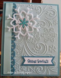 143 best Crafts...Darice embossing folder ideas images on Pinterest | Cards, Butterfly cards and ...